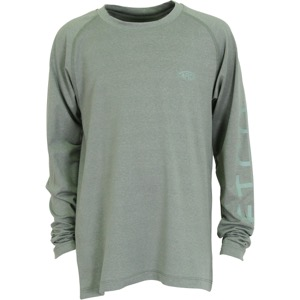 AFTCO Youth Samurai 2 Performance Long Sleeve Shirt Olive