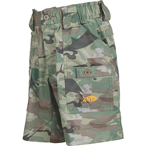 Boys Camo Original Fishing Shorts