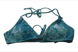 Volcom Graffiti Beach Triangle Bikini Top-Medium
