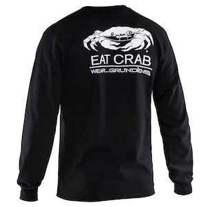 Eat Crab Long Sleeve T-Shirt Small