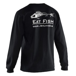 Eat Fish Long Sleeve T-Shirt Small