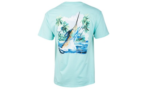 Guy Harvey Island Competition Short Sleeve T