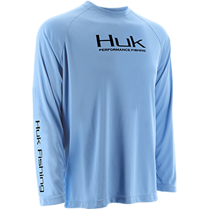 Huk Youth Performance Raglan Long Sleeve