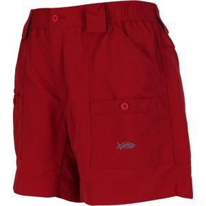 AFTCO Original Fishing Shorts Long Chili