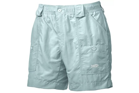 AFTCO Original Fishing Shorts Long Mint