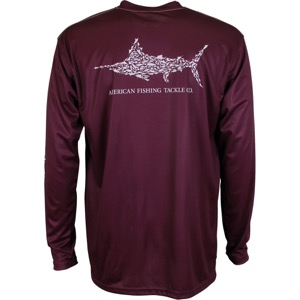 Jigfish LS Shirt Malbec