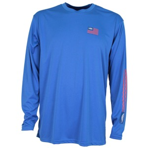AFTCO Spangled LS Performance Shirt