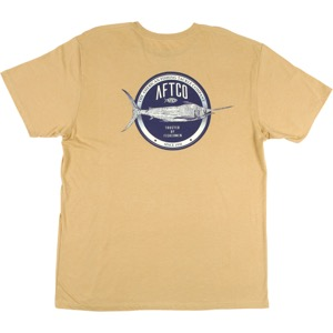 AFTCO Skylight T- Shirt Straw