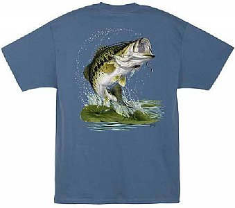 Al Agnew Trout on a Fly S/S T-Shirt Size Medium Only