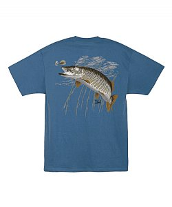 Al Agnew Muskie S/S Tee Size Medium Only