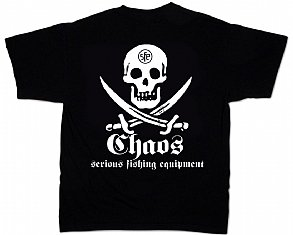 Short Sleeve Pirate T-Shirt Black