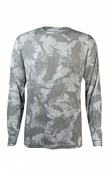 Flats Camo Performance Shirt- Grey