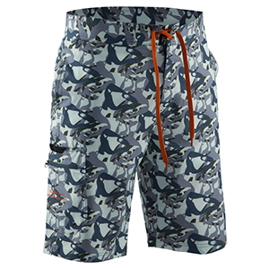 Fish Head Board Short Monument Camo - 30