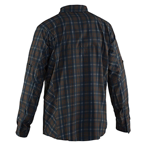 Flybridge Long Sleeve Shirt Dark Slate Plaid - Small