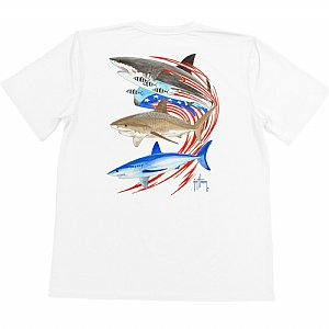 Youth Guy Harvey Go Fast Short Sleeve Shirt