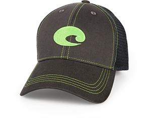 Neon Trucker Graphite Hat
