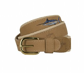 Offshore Slam Leather Belt