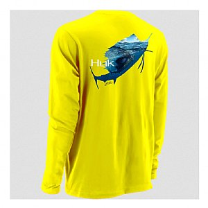 HUK KC Scott Rising Sail Icon Long Sleeve