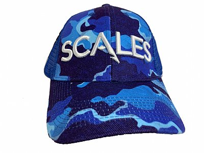 SCALES Iconic Low Crown Camo Blue