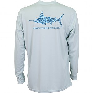 AFTCO Youth Jigfish Long Sleeve Shirt Vapor