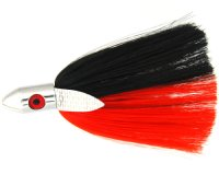 Medium Hair Bullet Red/Black