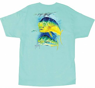 Guy Harvey Two Bulls Short Sleeve Tee Small