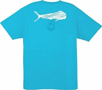 Guy Harvey Streak Mens Short Sleeve Tee Small