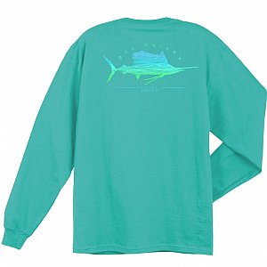 Sailfish Scribble Long Sleeve Small