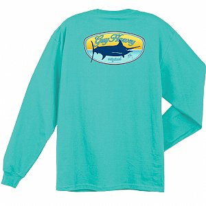 Guy Harvey Happy Hour Long Sleeve Shirt Small