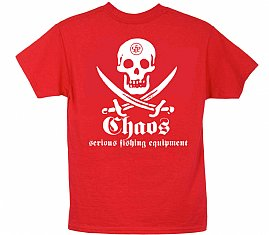 Youth Short Sleeve Pirate T-Shirt Red