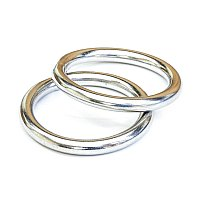 Tigress Stainless Steel Outrigger Rings