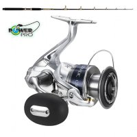 Shimano Stradic 5000 with SPC1025 & Free PowerPro Slick