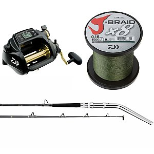 Daiwa Tanacom Combo with Dendoh Rod and x8 JBraid