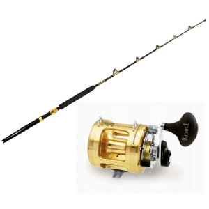 Shimano TIAGRA 16 Spooled with SUFIX Mono + CHAOS STA 30-50 2PC 6FT