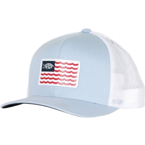 AFTCO Canton Trucker Hat Light Blue