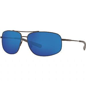 COSTA Shipmaster 580P Blue Mirror/Brushed Gunmetal