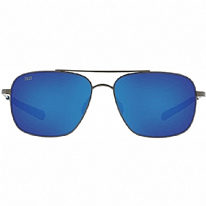 COSTA Canaveral 580P Blue Mirror/Brushed Gray Frame
