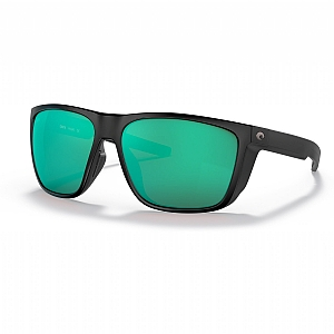COSTA Ferg XL Matte Black Green Mirror 580G