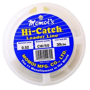 Momoi Hi-Catch Mono Leader-50 Yds.