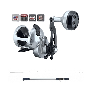 Accurate Tern TX-300X with Temple Reef Elevate Rod E1 Combo