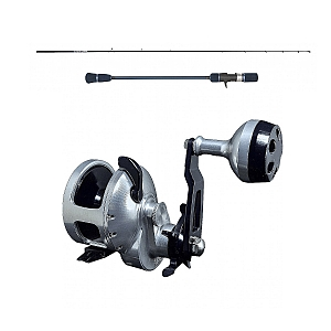 Accurate Tern TX-500NL Left with Temple Reef Elevate Rod E1 Combo
