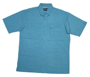 Bimini Bay Outfitters The Largo Short Sleeve Shirt with Blood Guard