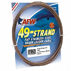 American Fishing Wire 49 Strand Stainless