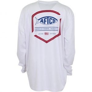 AFTCO Youth Flipper Long Sleeve Performance Knit Shirt