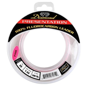 "Momoi Diamond Fluorocarbon ""Presentation"" Leader - 25 Yards"
