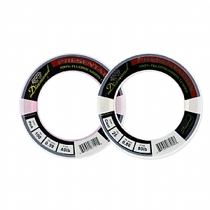 "Momoi Diamond Fluorocarbon ""Presentation"" Leader - 500 Yards"