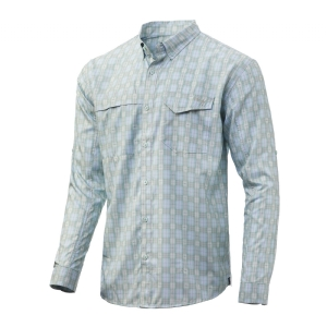 Huk Long Sleeve Tide Point Plaid