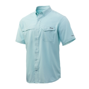 Huk Tide Point Solid Short Sleeve Shirt