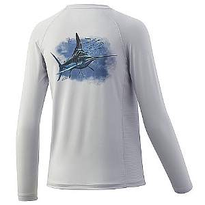 Huk Youth Midnight Magic Long Sleeve Pursuit