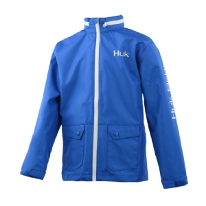 Huk Youth Breaker Jacket Royal Blue